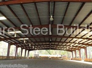 Durobeam Steel 40x75x16 Metal Building Rigid Frame All Open Roof System Direct