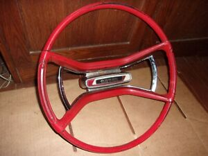1962 Dodge 880 Factory Steering Wheel Plymouth 1960 1961 63 64