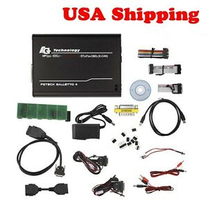 Usa Ship Obd2 Latest Master Version V54 Fgtech Galletto 4 With Bdm Obd Function