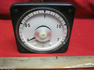 Kilowatts Meter 3 Phase3 Wire W 230v Ext Resistor 2080637 Cp 0 2 Kw