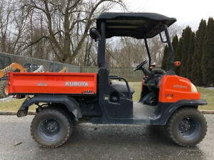 2008 Kubota Rtv 900 Utility Vehicle Side By Side 4x4 Dump Bed Diesel Utv Atv