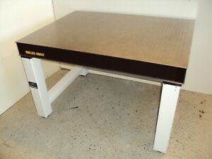 Crated Melles Griot Optical Table 3x4 W Newport Bench Lab Breadboard Isolation