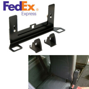 Black Isofix Child Safety Seat Belt Latch Interfaces Laser Cutting And Forming