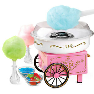 Commercial Cotton Candy Maker Machine Sugarfree Kids Party Carnival Home Vintage