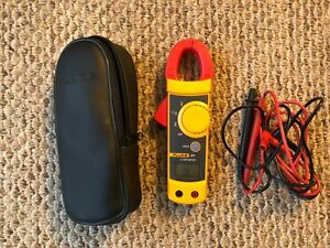 New Fluke 321 Meter Carrying Case And Test Leads