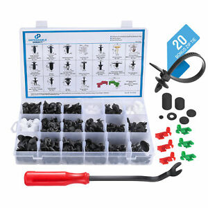 Automotive Retainer Clip And Fastener 462 Piece Kit For Trim Panel Tailgates