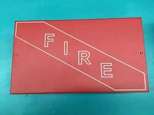 Edwards Mfc a Fire Box Multi Purpose Mounting Cabinet New In Box Red