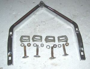 1932 1948 Front Bumper A Bar Grille Guard Original Vintage Accessory Chevy Or Bo
