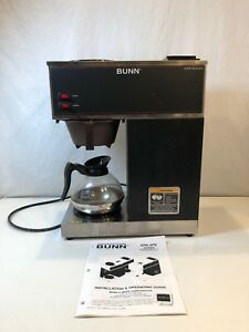 Bunn Vpr Commercial 12 Cup Coffee Maker Brewer