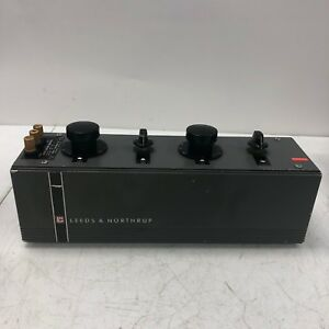 Leeds And Northrup Ac dc Decade Resistor Box 4754 Rare Vinatge