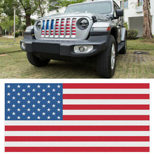 Front Grille Guard Mesh Insert Hood Grill Screen For 2018 2019 Jeep Wrangler Jl
