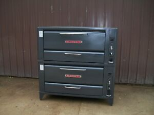 Blodgett Double 951 Natural Deck Gas Double Pizza Ovens New Stones