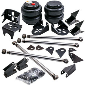 Universal Weld On Triangulated 4 Link Kit Bracket 2500 Bag Air Ride Suspension
