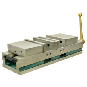Clamp 3 5 In Jaw Opening 6 In Cnc Double Vise Milling Lock Down Hardened 0004