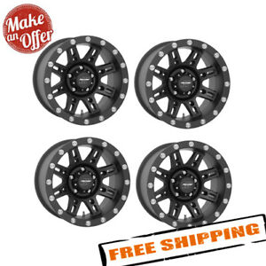 Pro Comp Alloy 7031 6865 16x8 Wheels With 5 On 4 5 Bolt Pattern Set Of 4