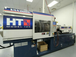 Van Dorn demag 120ht8 120 Ton 8 Oz Injection Molding Machine 10880 10881