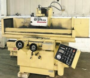Okamoto acc 12 24dx 12 X 24 Auto Surface Grinder