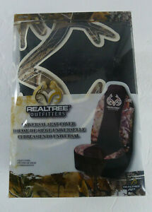 Realtree Outfitters Universal Seat Cover Camo Bucket Seat Water Repellant