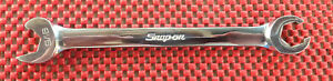 Snap On Rsxs18 9 16 6 Point Sae Speed Line Open End Flare Nut Wrench
