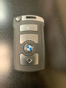 New Replacement Smart Key Remote Prox Uncut Emergency Blade Blank For Bmw 7 Seri