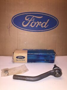 Nos 1965 1966 Ford Mustang Power Steering L H Inner Tie Rod V8 289 P S Falcon