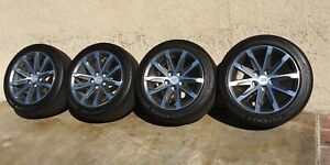 17 Cadillac Cts Wheels Rims Tires Factory Oem Original 17 Inch 4712