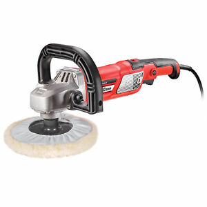 Powerbuilt 7 Iinch 10 Amp Variable Speed Sander Polisher With Electronic Speed