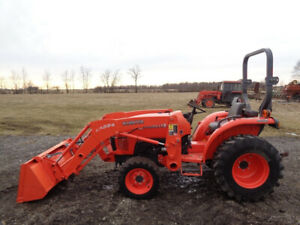 2012 Kubota L3800 Tractor 4wd Shuttle Shift La524 Qa Loader 1 Remote 384hrs