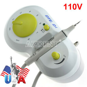 Woodpecker Brand Dental Clinic Ultrasonic Piezo Scaler Dte D1 110v With 5 Tips