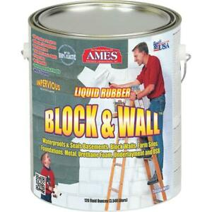 Ames Block Wall Liquid Rubber Membrane Basement Waterproofing Coating 1