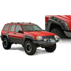 10916 07 Bushwacker Cut Out Fender Flares Jeep Grand Cherokee 1993 1998