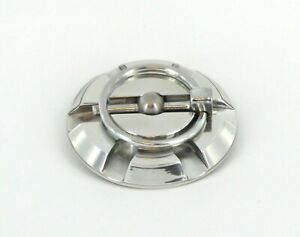 5110p All Sales Polished Hood Pin With Torsion Clip Without Cables
