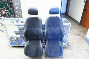Jdm Toyota Altezza Sxe10 Front Seats Suede Leather Side Airbag Lexus Is300
