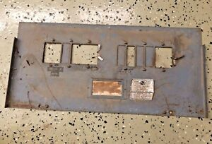 Electric Service Breaker Panel Cover Used