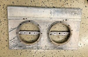 Electric Service Meter Panel Cover Used