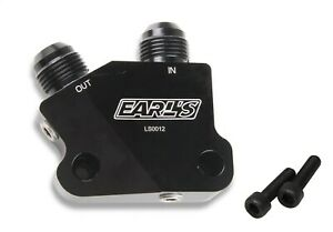 Earls Plumbing Ls0012erl Engine Oil Cooler Adapter
