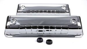 Racing Power Co packaged Steel Stock Height Valve Covers Ford Y block P n R7541