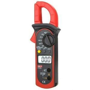 Ut200a Lcd Digital Clamp Multimeter Backlight Ohm Dmm Dc Ac Voltmeter Ac Ammeter