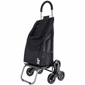 Foldable Trolley Dolly Stair Climber Shopping Cart Lightweight Portable Utility