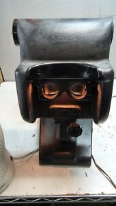 Lot Of Two Vintage View Ophthalmic Telebinocular And Light Veiwer Tester