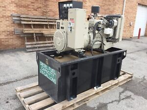 Katolight 60 Kw Diesel Generator 288 Hours John Deere Engine Ready To Go