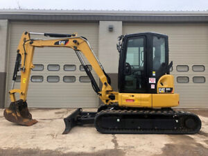2016 Caterpillar 305e2 Cr Rubber Track Excavator 562 Hrs Hyd Thumb Angle Blade