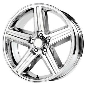 24 Inch 24x10 Replica Iroc Chrome Wheel Rim 6x5 5 6x139 7 10