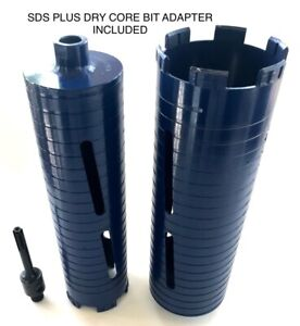2 3 Dry Diamond Core Drill Bit With Sds Plus Adapter Fits Bosch Hilti
