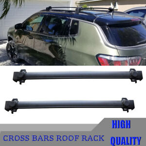 Cross J Bar For Jeep For Compass 2017 2018 Car Roof Rack Cargo Luggage Carrier