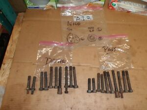 1968 Pontiac 350 A i r Head Bolts 1969 Oem Gm Gto Firebird Grand Prix 400 428
