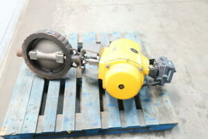 Crane 12 1wa 121rtg boj Flowseal Pneumatic Steel 150 Wafer 12in Butterfly Valve