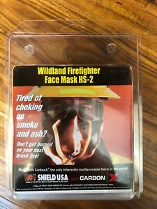 Brand New Hot Shield Wildland Firefighter Face Mask Hs 2