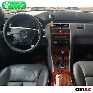 Mercedes Benz E Class W210 1995 2003 Armrest Box Lid Genuine Wood Walnut Cover