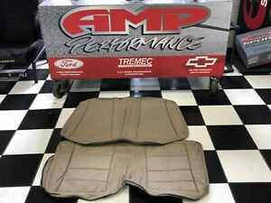 1999 2004 Mustang Convertible Roush Parchment Leather Rear Seat Covers